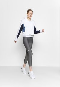 Under Armour - RIVAL HOODIE - Sweatshirt - white - 1