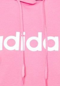 adidas Performance - Hoodie - rose tone/white - 6