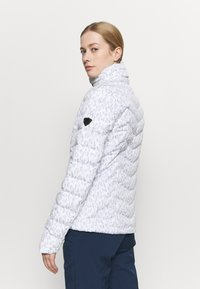 Ziener - TALMA LADY JACKET - Skijakke - light grey/white - 2