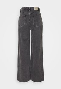 ONLY - ONLSONNY  LIFE CROPPED - Flared Jeans - grey denim - 1