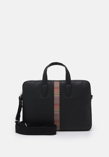 BAG SLIM UNISEX - Briefcase - black
