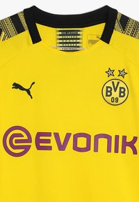 Puma - BVB BORUSSIA DORTMUND HOME REPLICA WITH EVONIK LOGO - Club wear - cyber yellow/black - 2