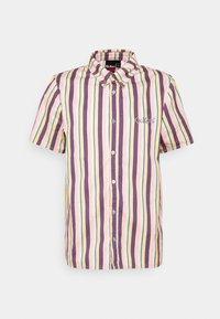 VERTICAL STRIPE SHORT SLEEVE SHIRT - Shirt - multi-coloured