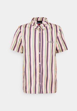 VERTICAL STRIPE SHORT SLEEVE SHIRT - Košile - multi-coloured