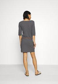Ragwear - TANYA - Jersey dress - black - 2