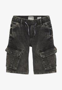 Vingino - CELDO - Denim shorts - dark grey vintage - 2