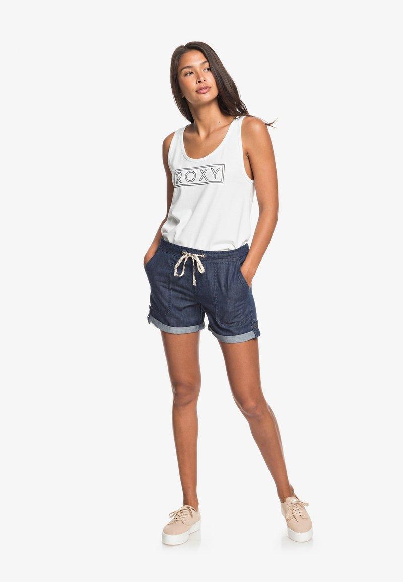 Roxy - MILADY  - Denim shorts - dark indigo