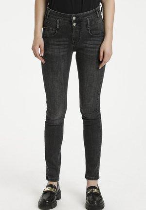 FIOLA - Jeans Slim Fit - medium grey wash