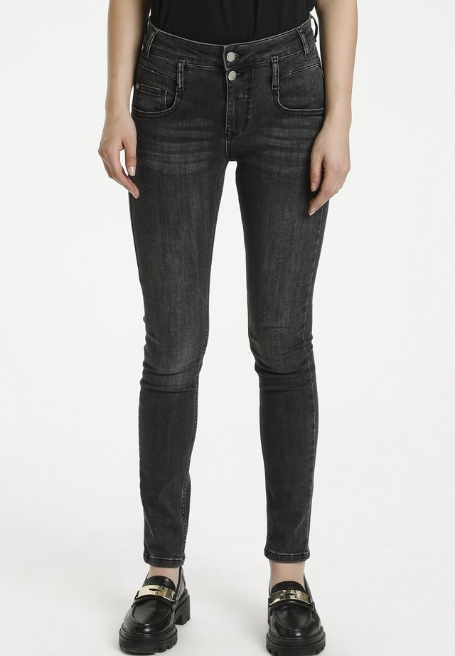 FIOLA - Slim fit jeans - medium grey wash
