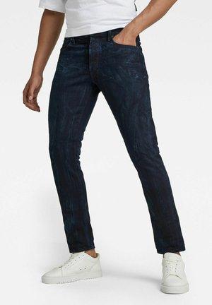 3301 SLIM SELVEDGE - Jeans Slim Fit - worn in bleak