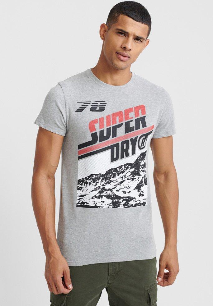Herren DOWNHILL PHOTOGRAPHIC - T-Shirt print - grey