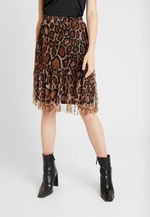 ANIMAL SKIRT - A-line skirt - bric