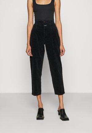 PEARL - Trousers - black