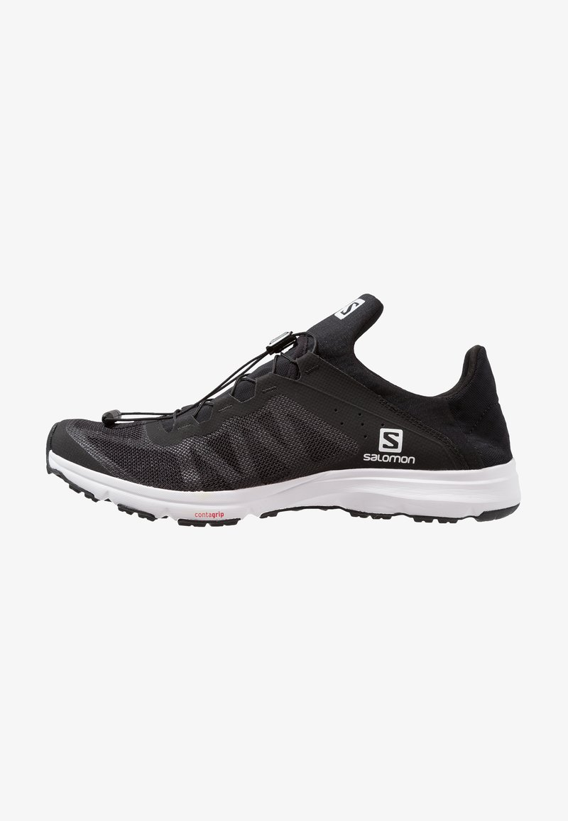 Salomon - AMPHIB BOLD - Hiking shoes - black/white