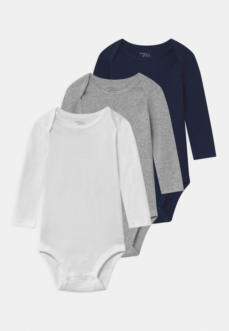 Carter's - BASIC 3 PACK UNISEX - Body - dark blue/white