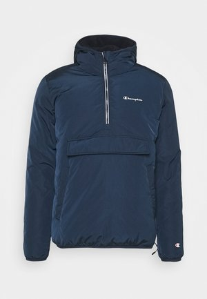 HOODED JACKET - Chaqueta de invierno - navy