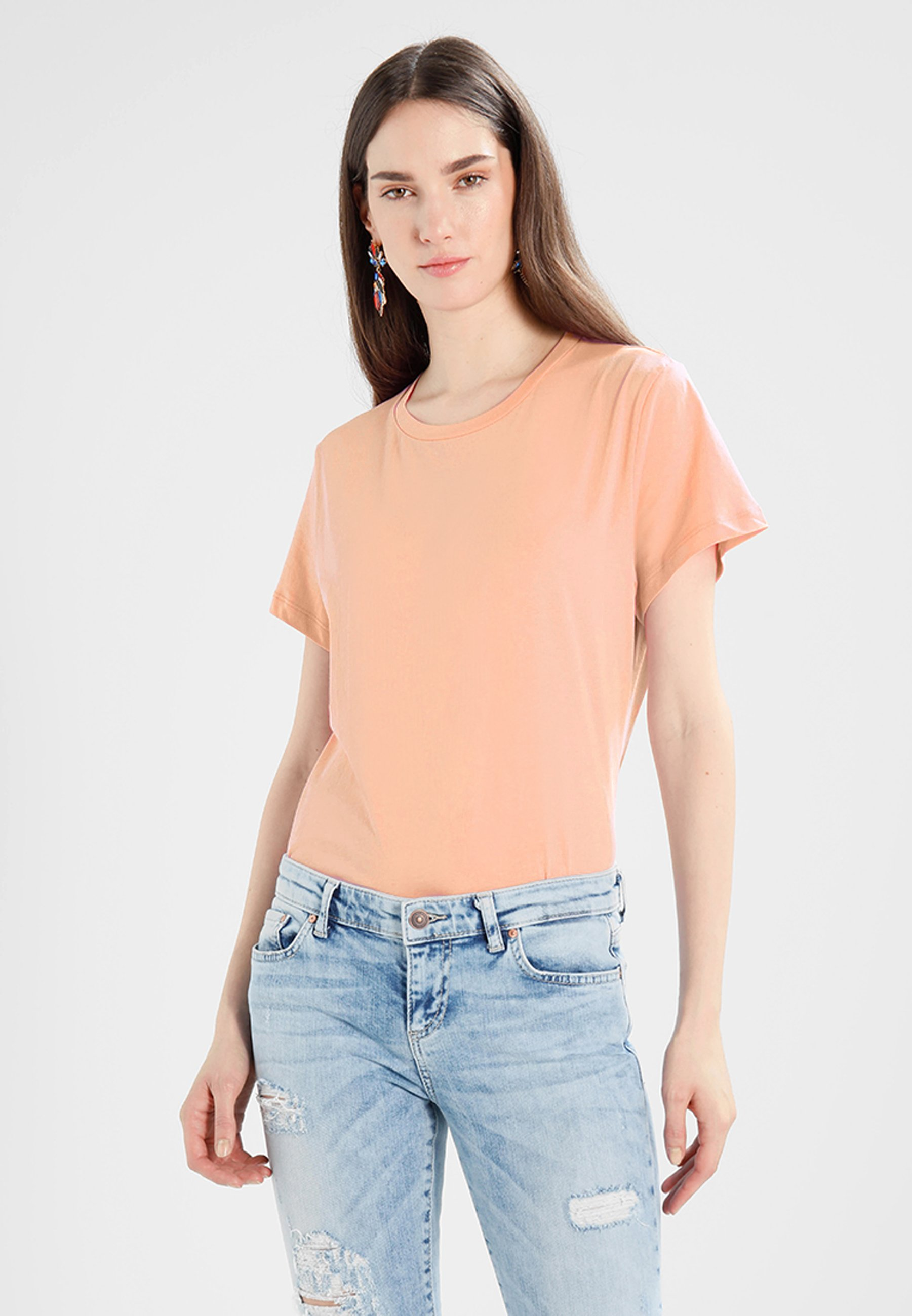 Women SOLLY TEE SOLID - Basic T-shirt