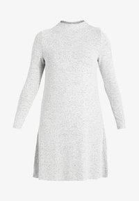 ONLY - ONLKLEO - Shift dress - light grey melange - 4