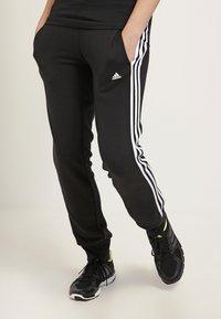 adidas Performance - ESSENTIALS  - Verryttelyhousut - black/white - 0