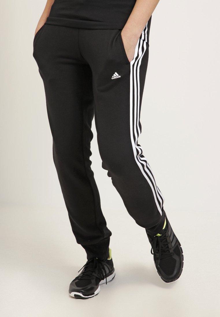 adidas Performance - ESSENTIALS  - Verryttelyhousut - black/white