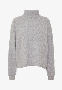 New Look - BRUSHED BOXY - Jersey de punto - light grey - 3