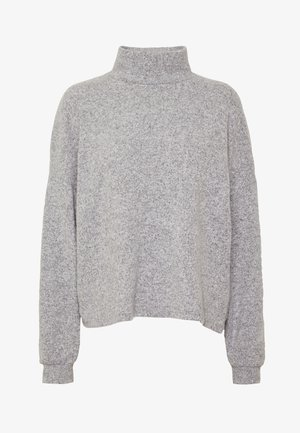 BRUSHED BOXY - Jersey de punto - light grey