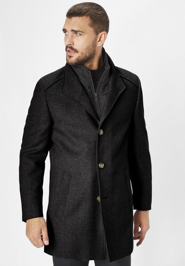 NEWTON BLACK - Classic coat - black