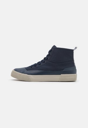 MID  - High-top trainers - marine