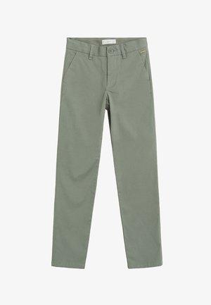 PICCOLO7 - Spodnie materiałowe - pastelově zelená