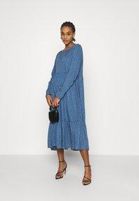 Even&Odd - Day dress - blue/black - 1