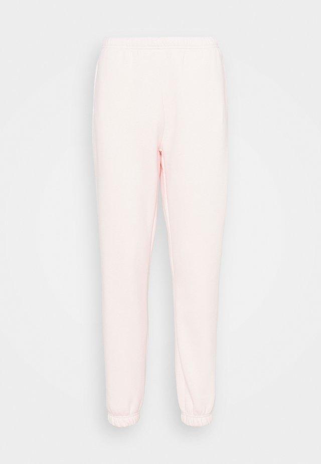 Teplákové kalhoty - barely pink