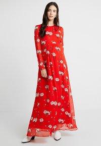 IVY & OAK - MATERNITY DRESS - Maxi dress - lovers red - 1