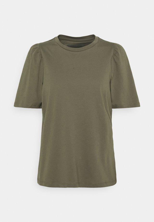 NMSHOUT - Jednoduché triko - kalamata