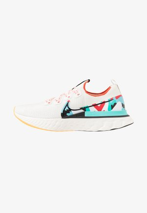 REACT INFINITY RUN FLYKNIT - Obuwie do biegania treningowe - sail/black/track red/laser orange