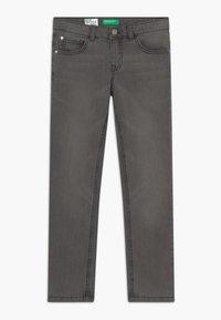 Benetton - Slim fit jeans - dark blue denim - 0