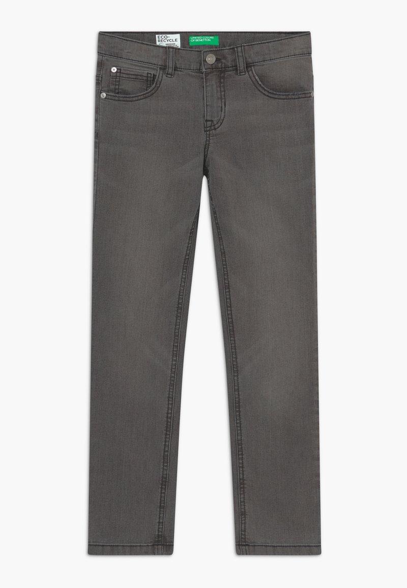 Benetton - Slim fit jeans - dark blue denim