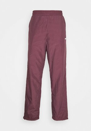 ALISTAIR PANT - Pantaloni sportivi - black/etna red