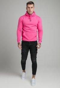 SIKSILK - CORE HOOD - Sweatshirt - pink - 1