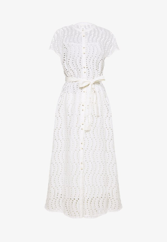 OBJTARGO LONG DRESS - Vestido camisero - gardenia