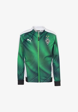 BORUSSIA MÖNCHENGLADBACH - Soft shell jacket - bright green-black