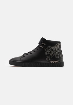 CREEPER - Sneakers alte - black/gunmetal