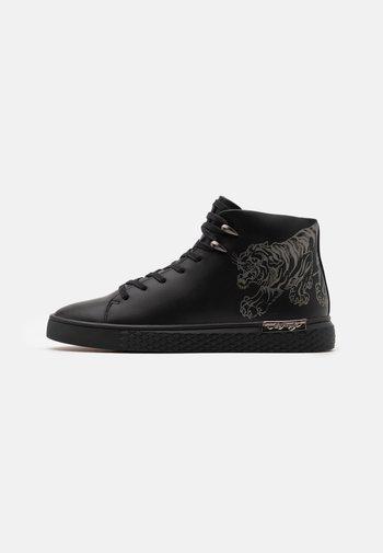 CREEPER - Höga sneakers - black/gunmetal