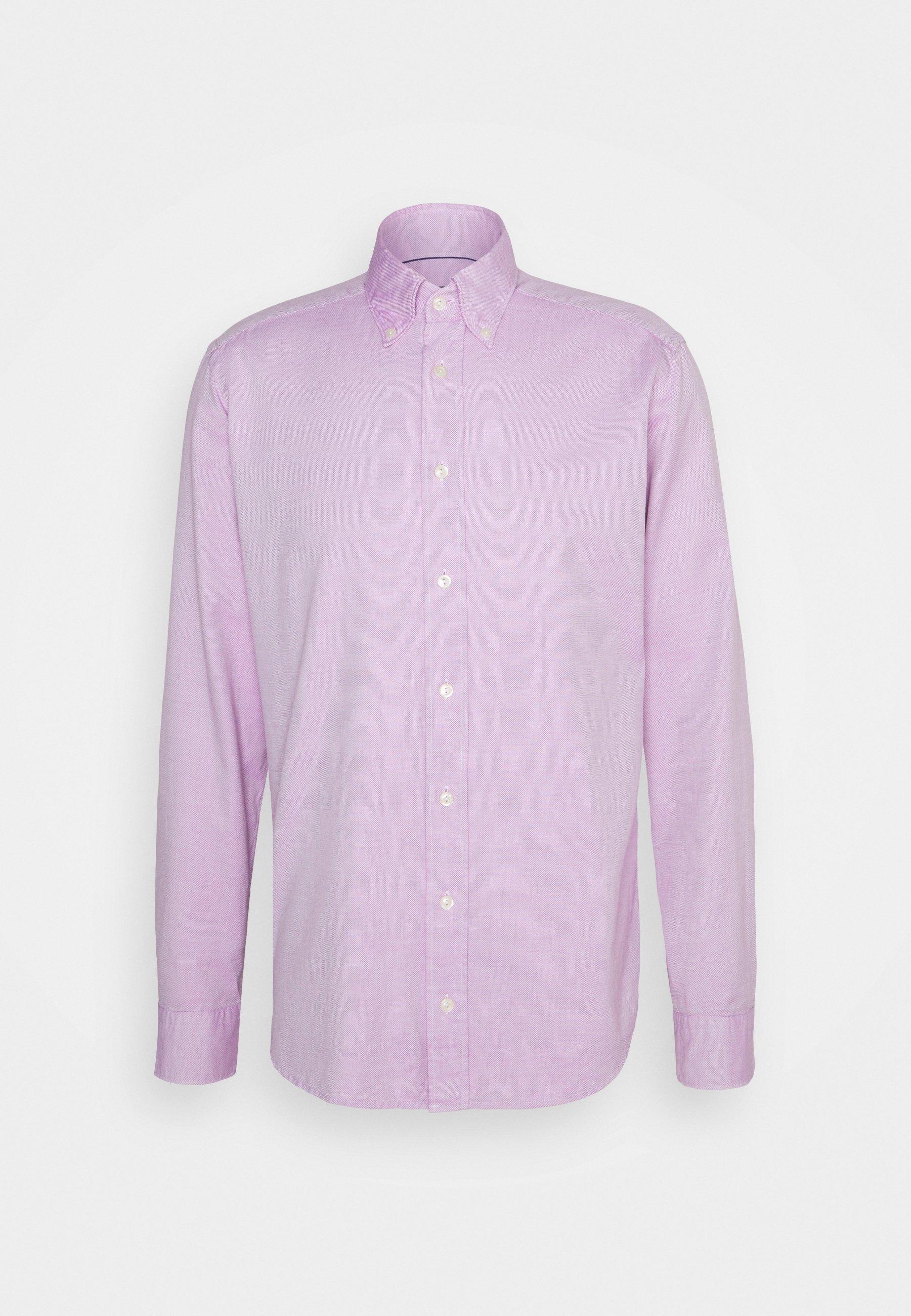 Men SLIM SOFT ROYAL OXFORD SHIRT - Button-down blouse - purple