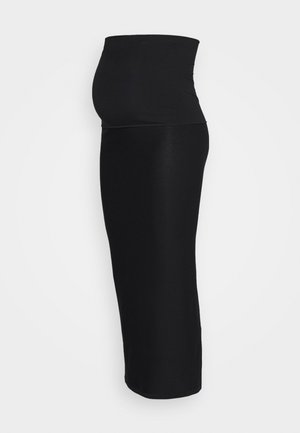 ONCE ON NEVER OFF LONG SKIRT - Pencil skirt - black