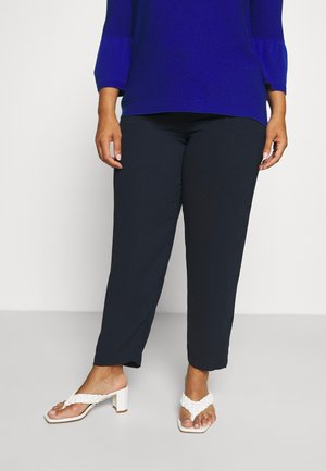 WOVEN JOGGER WITH SIDE STRIPE - Broek - navy
