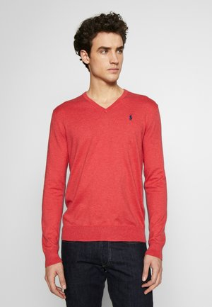 LONG SLEEVE - Strickpullover - rosette heather