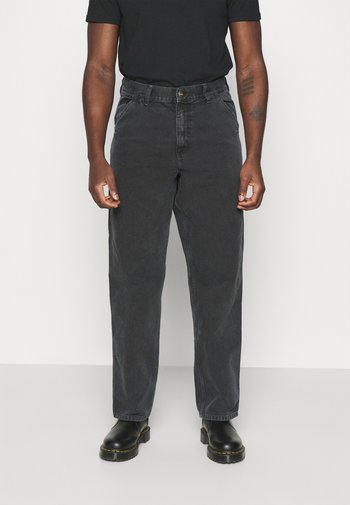 DEARBORN SINGLE KNEE PANT - Kalhoty - black worn