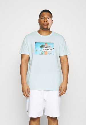 PHOTO TEE - Triko s potiskem - pastel blue