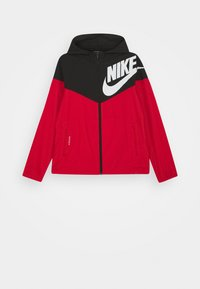 Nike Sportswear - WINDRUNNER - Training jacket - black/university red/white - 0
