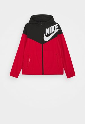 WINDRUNNER - Kurtka sportowa - black/university red/white